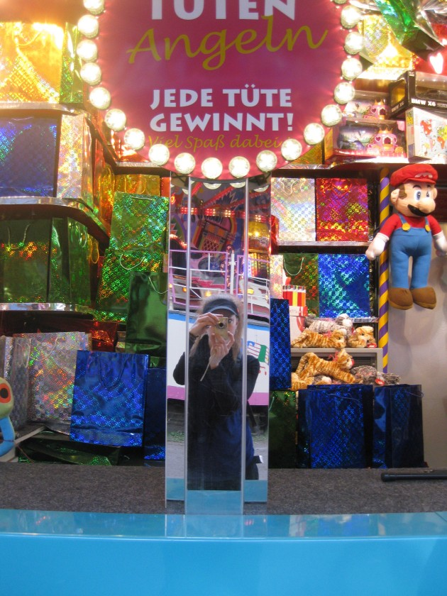 at the funfair